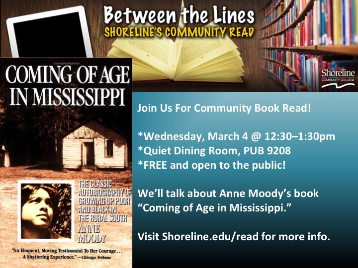 essay on coming of age in mississippi The life of anne moody and the events of the civil rights movement are chronicled in her autobiography and a book called coming of age in mississippi which was.