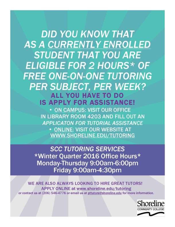tutoring services