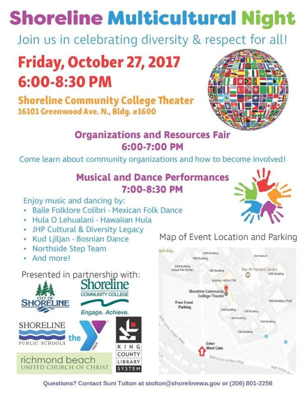 Shoreline multicultural show