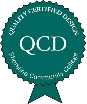 Shoreline Quality Course Design Certification logo
